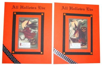 All Hallows Eve card