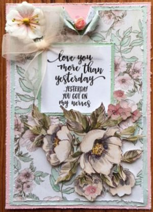 Love You More Than Yesterday Card
